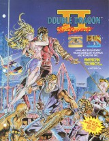 jaquette PC Engine CD ROM Double Dragon II The Revenge