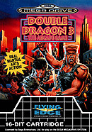 jaquette Megadrive Double Dragon III The Sacred Stones