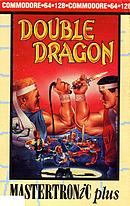 jaquette Commodore 64 Double Dragon