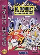 jaquette Game Gear Dr. Robotnik s Mean Bean Machine