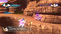 Dragon Ball Xenoverse Vegeta screenshot 4