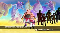 Dragon Ball Xenoverse screenshot creation personnage 6