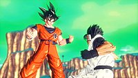 Dragon Ball Xenoverse combat Goku wallpaper 1