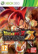 jaquette Xbox 360 Dragon Ball Z Battle Of Z