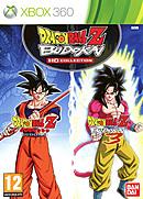jaquette Xbox 360 Dragon Ball Z Budokai HD Collection