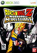 jaquette Xbox 360 Dragon Ball Z Burst Limit