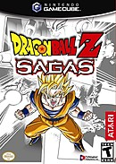 jaquette Gamecube Dragon Ball Z Sagas