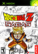 jaquette Xbox Dragon Ball Z Sagas