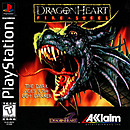 jaquette PlayStation 1 DragonHeart Fire Steel