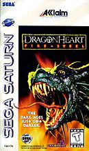 jaquette Saturn DragonHeart Fire Steel