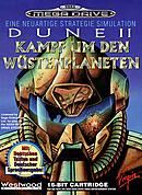 jaquette Megadrive Dune II La Bataille D Arrakis
