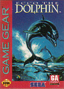 jaquette Game Gear Ecco The Dolphin
