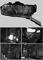GDF Vehicle Trojan APC Interior Views