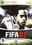 jaquette Xbox 360 FIFA 07