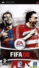 jaquette PSP FIFA 08