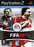 jaquette PlayStation 2 FIFA 08