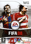 jaquette Wii FIFA 08