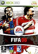 jaquette Xbox 360 FIFA 08