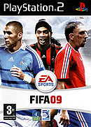 jaquette PlayStation 2 FIFA 09