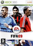 jaquette Xbox 360 FIFA 09