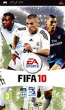 jaquette PSP FIFA 10