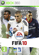 jaquette Xbox 360 FIFA 10