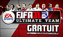 jaquette Xbox 360 FIFA 11 Ultimate Team