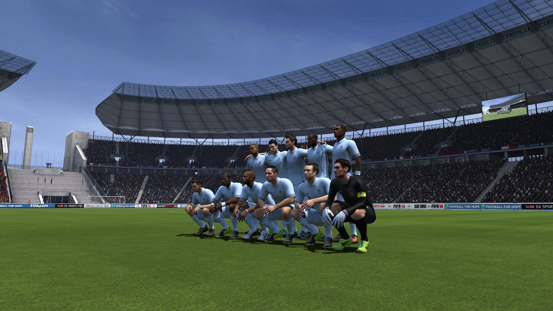 Wallpapers, fond d'ecran pour FIFA 14 PC, 3DS, Wii, PS3, PSP, Xbox 360, PS2, PSvita, Android ...