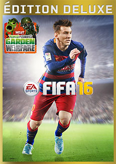jaquette Xbox One FIFA 16 Edition Deluxe