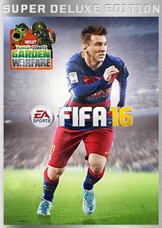 jaquette Xbox One FIFA 16 Edition Super Deluxe