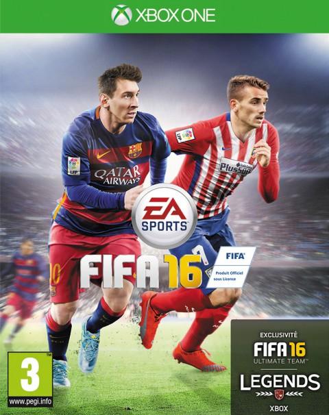 jaquette Xbox One FIFA 16