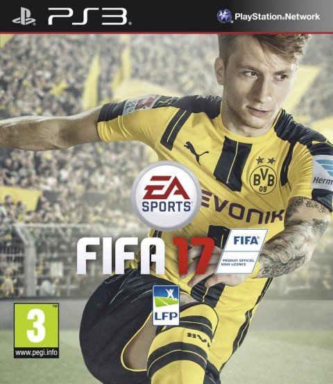 jaquette PlayStation 3 FIFA 17