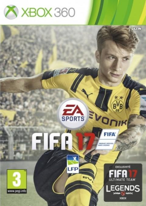 jaquette Xbox 360 FIFA 17