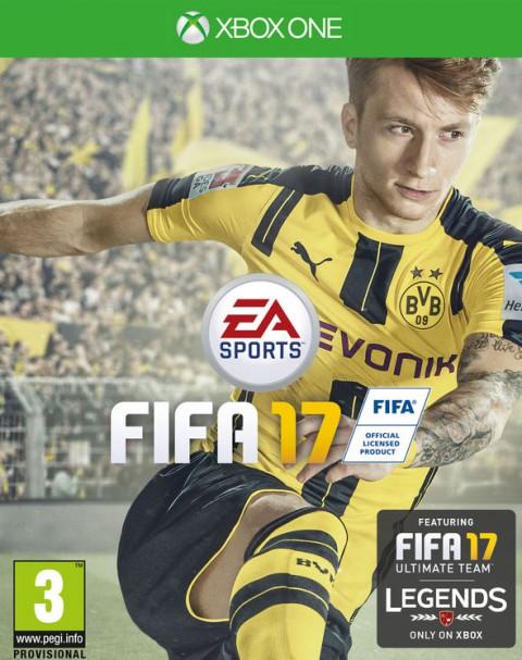jaquette Xbox One FIFA 17