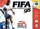 jaquette Nintendo 64 FIFA 98 En Route Pour La Coupe Du Monde