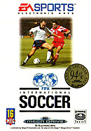 jaquette Megadrive FIFA International Soccer