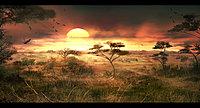FCRY2 conceptart savannah sunset