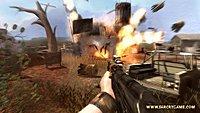 71078 FCRY2 PC screenshot barrel explosion 01