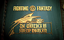 jaquette PlayStation 3 Fighting Fantasy The Warlock Of Firetop Mountain