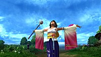 Final Fantasy X HD Screenshot Yuna invocation