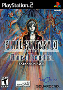 jaquette PlayStation 2 Final Fantasy XI Online Chains Of Promathia