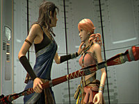 Final Fantasy XIII screenshot Fang Vanille 1