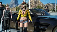 Final Fantasy XV Regalia Cindy Aurum
