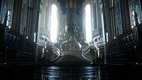 Final Fantasy XV la salle du trone