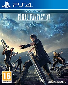 jaquette PlayStation 4 Final Fantasy XV