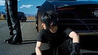 Final Fantasy XV Noctis Lucis Caelum en panne
