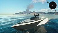 Final Fantasy XV voyage en bateau screenshot 1