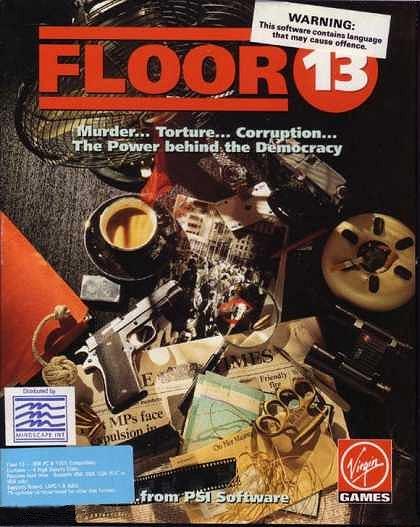 jaquette PC Floor 13