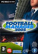 jaquette PC Football Manager 2005