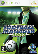 jaquette Xbox 360 Football Manager 2007